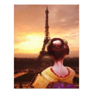 Geisha in Paris Flyer