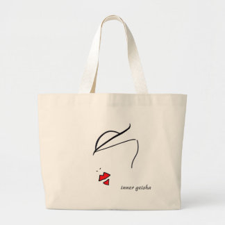 geisha interno bolsa de mano