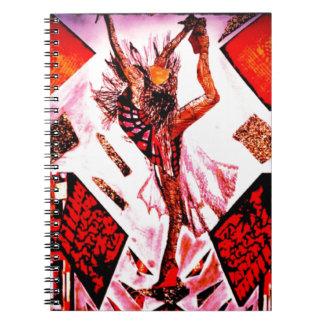 Geisha Japan Spiral Note Books