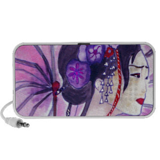 geisha japoneise travelling speaker