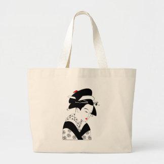 Geisha japonés bolsas de mano