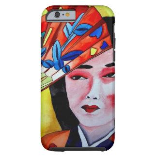 geisha japonés con arte de la original de la funda de iPhone 6 tough