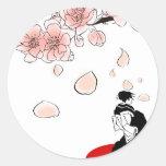 geisha japonés etiqueta