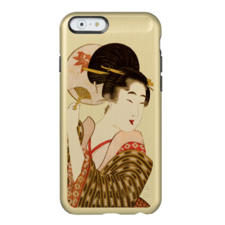Geisha japonés funda para iPhone 6 plus incipio feather shine