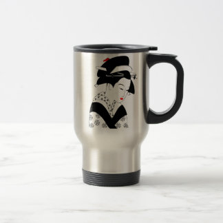 Geisha japonés tazas de café