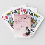 Geisha japonés ver2 cartas de juego