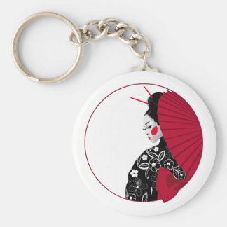 Geisha Keychain