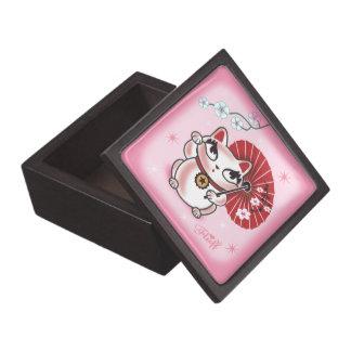 Geisha Kitty Gift Box Premium Keepsake Boxes