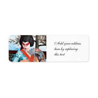 Geisha Label