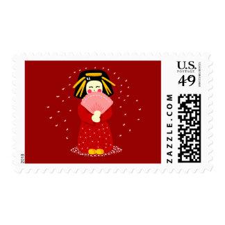 Geisha lindo sellos