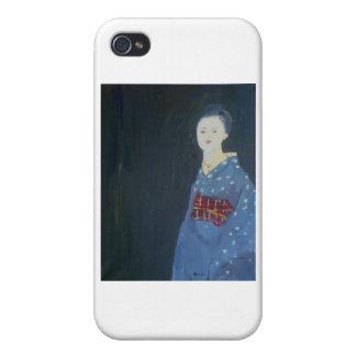 Geisha_Long_Sleeves iPhone 4 Carcasa