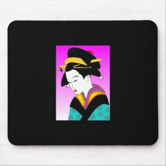 Geisha Mousepad del vintage