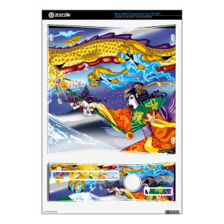 Geisha Of The Dragons XBOX 360(S) Skins Xbox 360 S Skin