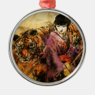 Geisha Ornament