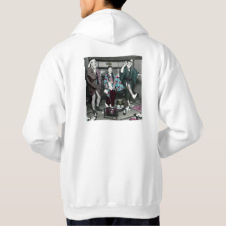 Geisha Party Time in Old Japan Vintage Japanese Hoodie