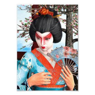 Geisha Photo Print