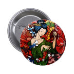 Geisha Pin Redondo 5 Cm
