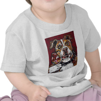 Geisha pitbull wine t shirts