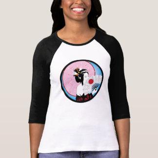 Geisha Camisetas
