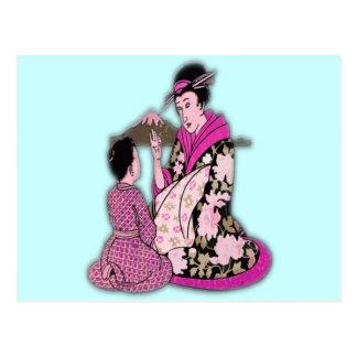Geisha Post Cards