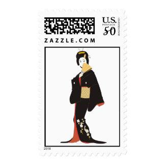 Geisha Postage