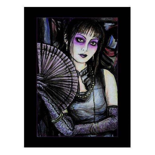 Geisha - postal