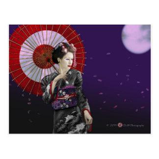 Geisha Postcard