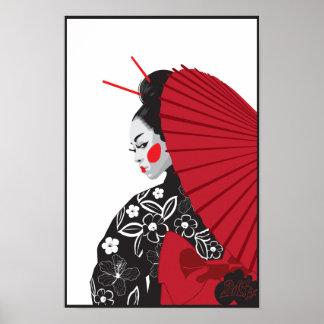 Geisha Póster