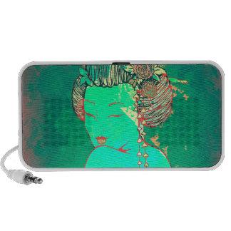Geisha Psychedelicb Travel Speaker
