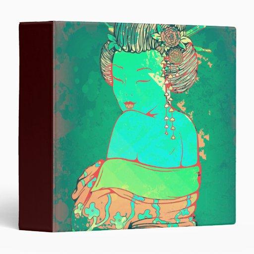 Geisha Psychedelicb Vinyl Binders