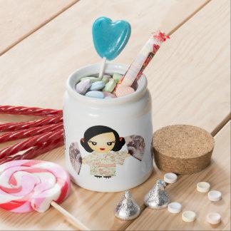 Geisha Rose Candy Dish