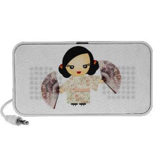 Geisha Rose iPhone Speaker