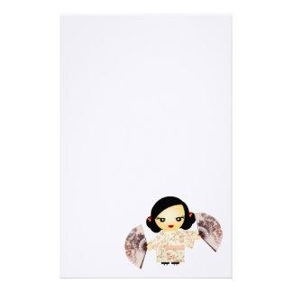 Geisha Rose Stationery