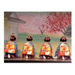 Geisha Row Postcard