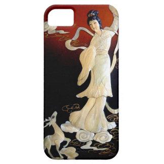 geisha shell art iPhone SE/5/5s case