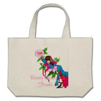 Geisha Thumbelina Canvas Bag