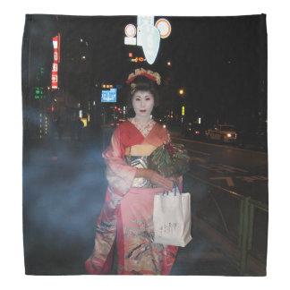 Geisha Tokio nea de Asakusa Bandanas