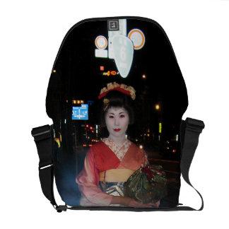 Geisha Tokio nea de Asakusa Bolsa De Mensajería