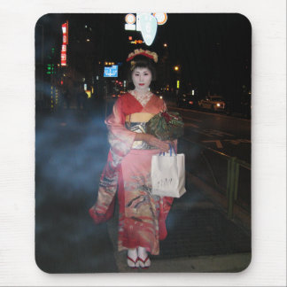 Geisha Tokio nea de Asakusa Mousepads