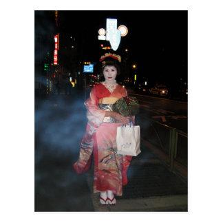 Geisha Tokio nea de Asakusa Tarjetas Postales