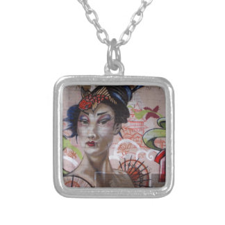 Geisha Urban Graffiti Street Art Jewelry