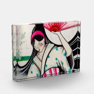 Geisha Wall Art Acrylic Award