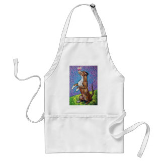 geisha with cupcake adult apron