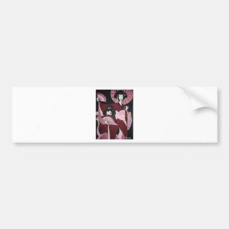 Geishas Bumper Sticker
