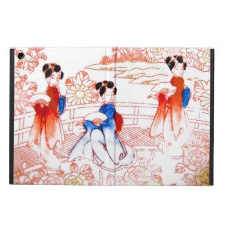 Geishas en jardín