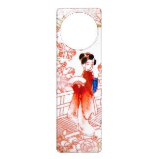 Geishas en jardín colgantes para puertas