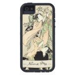 Geishas japoneses frescos de la voluta dos del uki iPhone 5 fundas