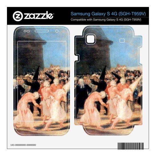 Geissler procession by Francisco de Goya Samsung Galaxy S 4G Decal