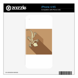Gekko Art Skins For The iPhone 4