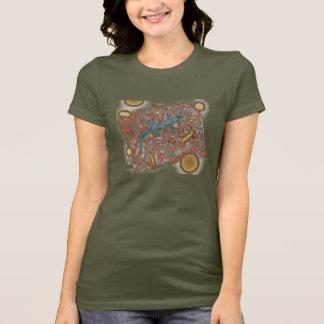 geko drip by eLiN T-Shirt